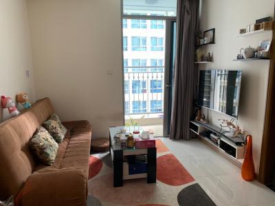 Bán căn hộ Vinhomes Central Park 1 phòng ngủ, tháp Landmark 6, đầy đủ nội thất, view hồ bơi