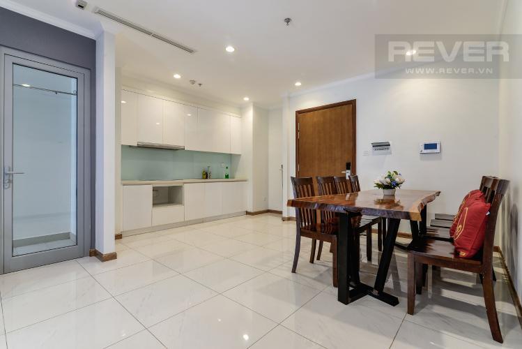 Phòng Ăn & Bếp Căn hộ Vinhomes Central Park tầng trung, 2PN, nội thất đầy đủ