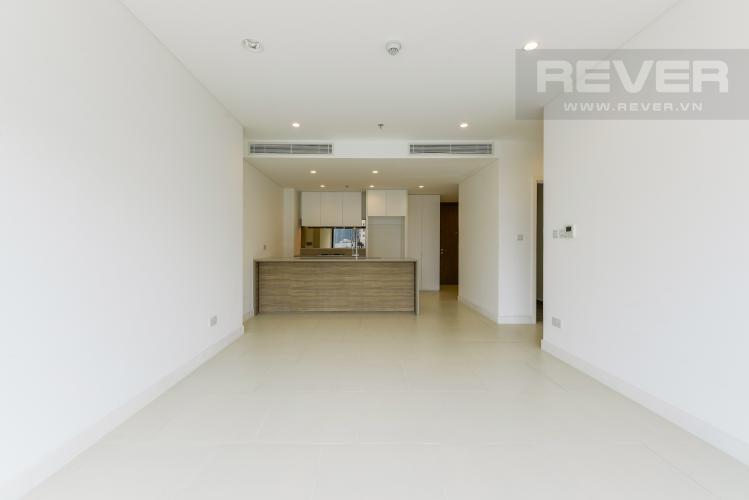 Phòng Khách Cho thuê căn hộ City Garden 1 phòng ngủ, diện tích 65m2, tầng trung view mát mẻ