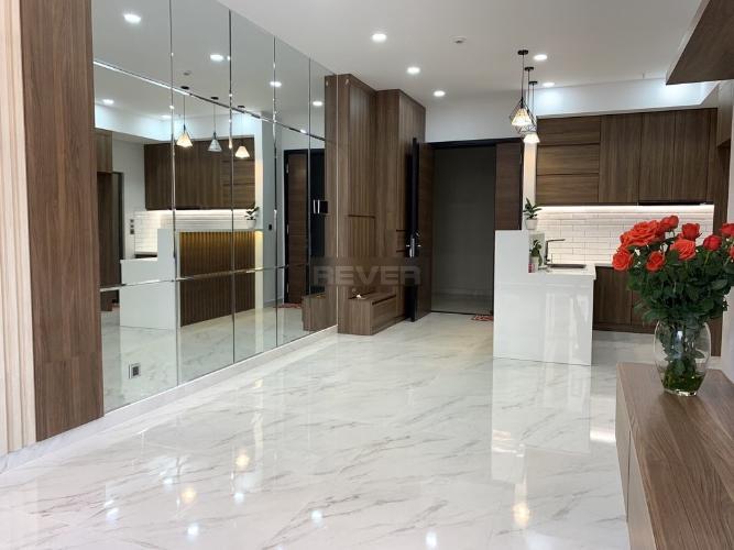 Căn hộ Phú Mỹ Hưng Midtown Căn hộ Phú Mỹ Hưng Midtown đầy đủ nội thất, view nội khu mát mẻ.