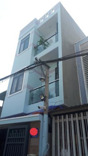Nhà phố 1 trệt 3 lầu 55m2, sân thượng rộng rãi.