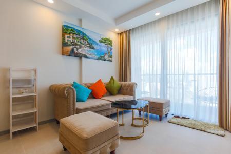 Cho thuê căn hộ The Gold View tầng cao, 2PN, view đẹp, đầy đủ nội thất