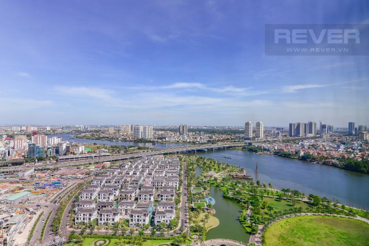 View Cho thuê căn hộ Vinhomes Central Park 4PN, diện tích rộng thoáng, view sông