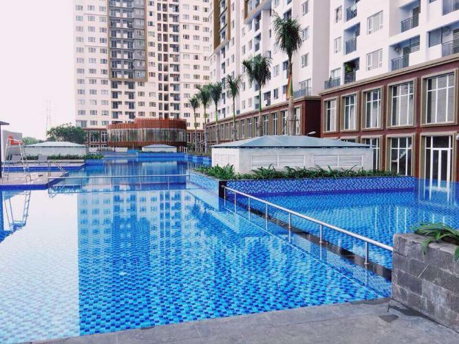 Tiện ích The Park Residence, Nhà Bè Căn hộ The Park Residence tầng thấp, ban công hướng Đông Nam.