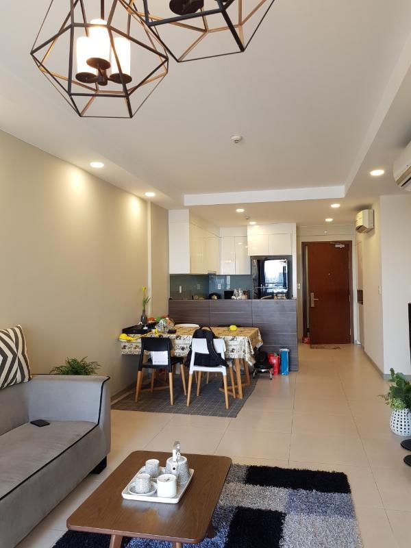 2.11 Bán căn hộ The Gold View 2PN, tháp A, đầy đủ nội thất, view hồ bơi và kênh Bến Nghé