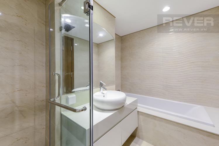 Phòng Tắm 1 Căn góc Vinhomes Central Park tầng thấp Central 1 nội thất cơ bản