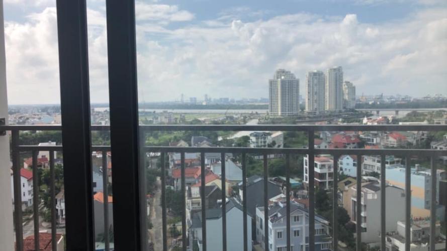 Ban công The Sun Avenue Căn hộ The Sun Avenue tầng cao, ban công thoáng mát view thành phố.