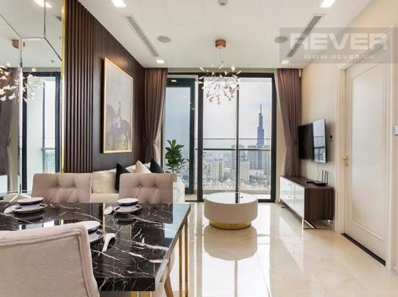 76443af0e0ad06f35fbc Cho thuê căn hộ Vinhomes Golden River 2PN, tầng cao, tháp The Aqua 2, đầy đủ nội thất, view sông và tháp Landmark 81
