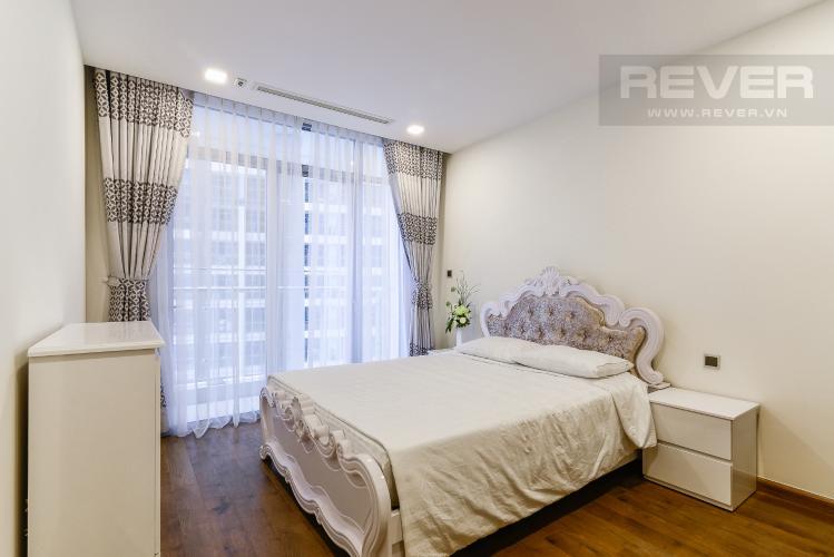 Phòng Ngủ 1 Căn hộ Vinhomes Central Park 2 phòng ngủ, tầng trung P2, nội thất đầy đủ
