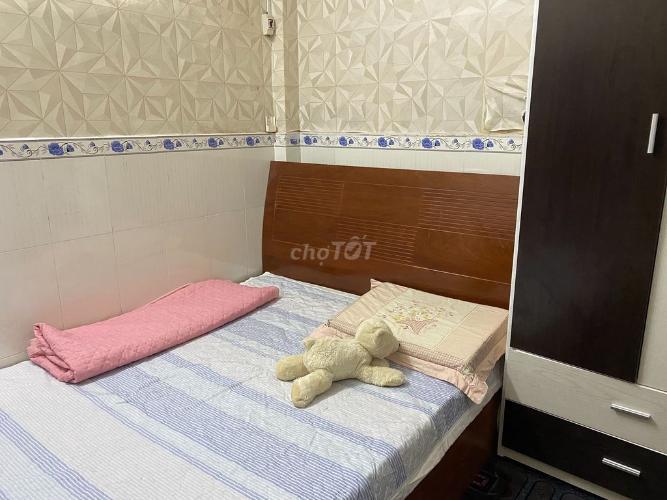 Phòng ngủ nhà phố đường Số 20, Thủ Đức Nhà phố Thử Đức hướng Nam diện tích đất 60m2, nội thất đầy đủ.