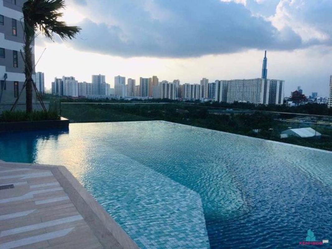 1 Bán căn hộ The Sun Avenue 2PN, block 5, diện tích 71m2, nội thất cơ bản, view sông thoáng mát