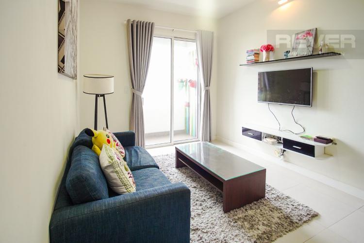 Phòng Khách Bán căn hộ Lexington Residence 2PN, tháp LA, đầy đủ nội thất, view đại lộ Mai Chí Thọ