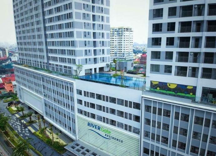 Tòa căn hộ River Gate Q.4 Căn hộ River Gate đầy đủ nội thất view thành phố thoáng mát.