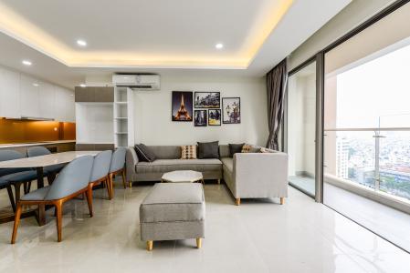 Cho thuê căn hộ Masteri Millennium 3PN rộng rãi, đầy đủ nội thất