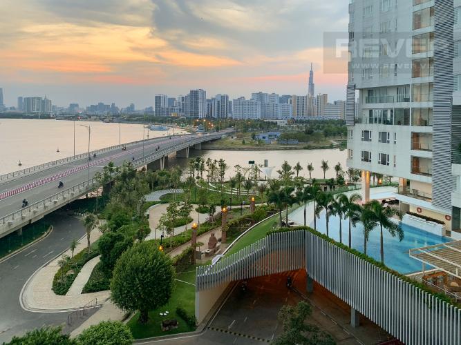 View Cho thuê căn hộ Diamond Island - Đảo Kim Cương 2PN, tháp Brilliant, đầy đủ nội thất, view sông thoáng mát