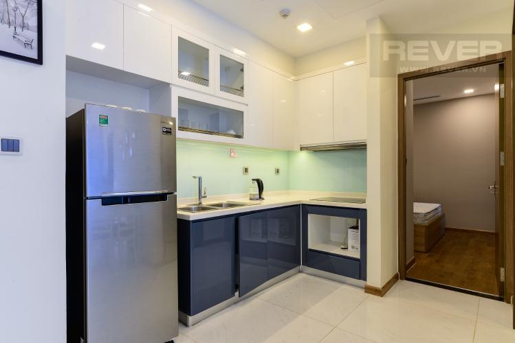 Nhà Bếp Bán và cho thuê căn hộ Vinhomes Central Park 2 phòng ngủ tầng cao tháp Park 1, view sông mát mẻ