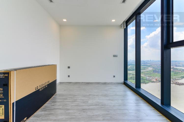 Phòng Ngủ 2 Cho thuê căn hộ tầng cao Vinhomes Golden River, 3PN, view sông Sài Gòn