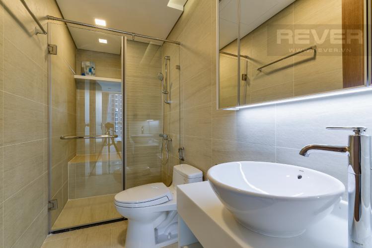 Phòng tắm 1 Căn hộ Vinhomes Central Park 2 phòng ngủ, tầng cao P6, nội thất đầy đủ