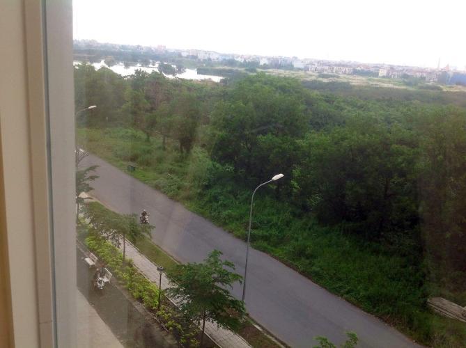 View căn hộ chung cư Bình Trị Đông B Căn hộ chung cư Bình Trị Đông B cửa hướng Tây Bắc, view thoáng mát.
