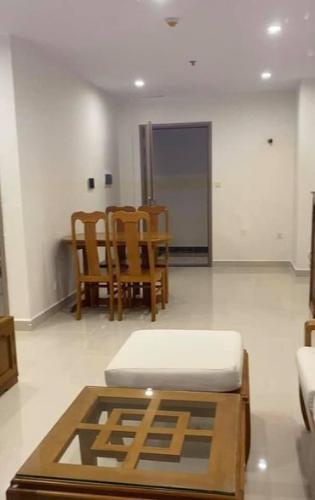Phòng khách Vinhomes Grand Park Quận 9 Căn hộ Vinhomes Grand Park tầng cao, ban công rộng rãi, 3 phòng ngủ.