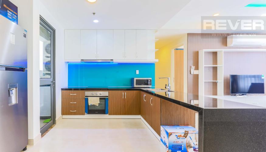 Phòng bếp hiện đại Căn góc hướng Tây Nam tầng cao T1B Masteri Thảo Điền