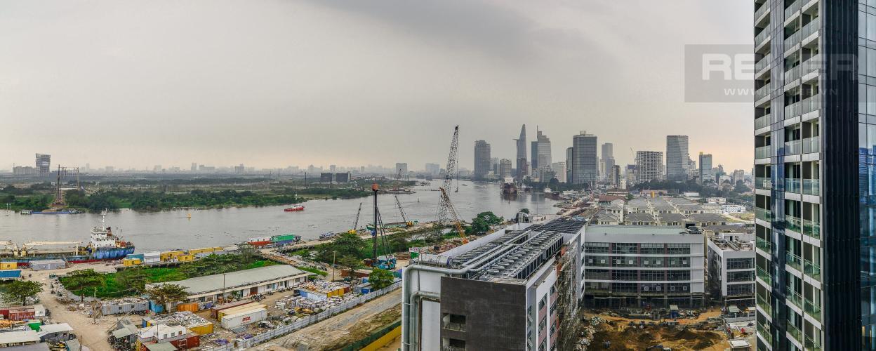 View Officetel Vinhomes Golden River tầng trung Aqua 4 view sông