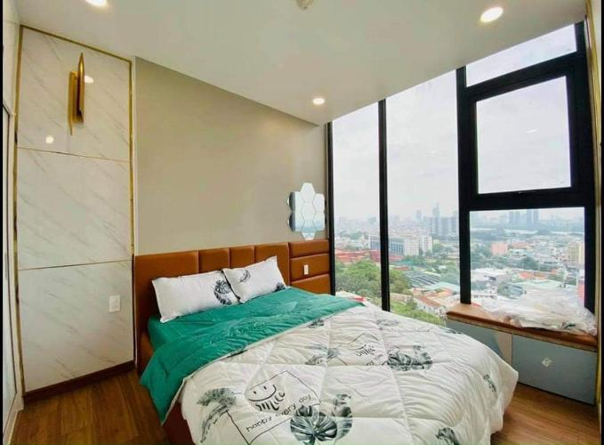 Phòng ngủ , Căn hộ Eco Green Saigon , Quận 7 Căn hộ Eco Green Saigon tầng 15 ban công hướng Đông Nam, nội thất đầy đủ.
