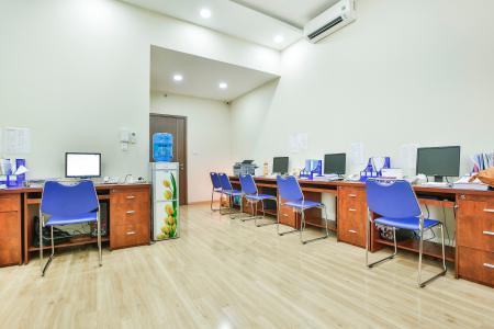Officetel Lexington Residence 1 phòng ngủ tầng thấp LE hướng Đông Bắc