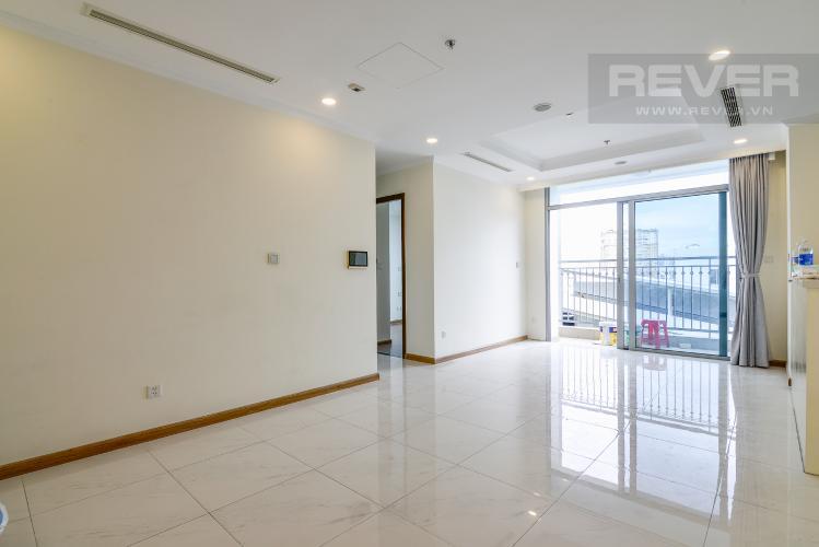 Phòng Khách Bán căn hộ Vinhomes Central Park 3PN, tầng thấp, đầy đủ nội thất, view hồ bơi