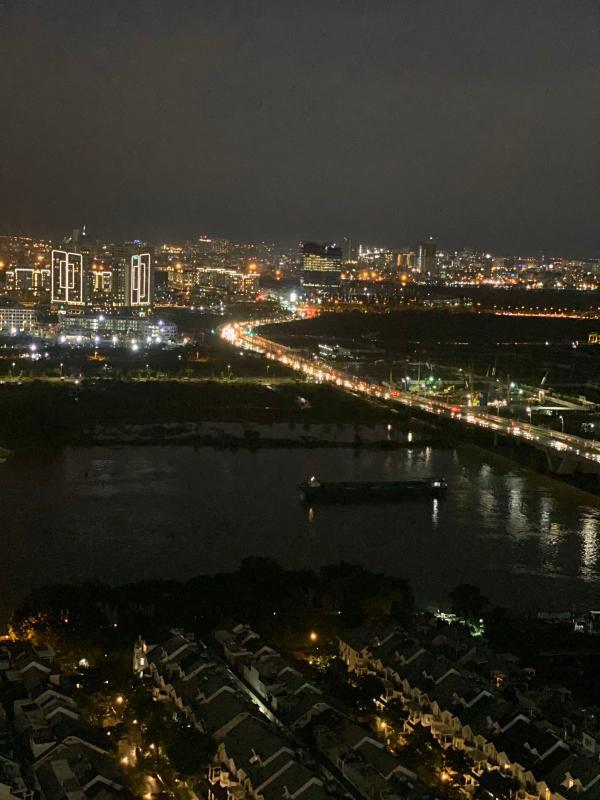 10 Bán hoặc cho thuê căn hộ Saigon Pearl 3PN, tầng cao, tháp Sapphire 1, đầy đủ nội thất, view sông và thành phố