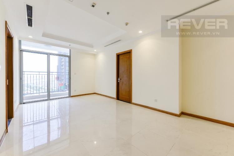 Phòng khách Căn hộ Vinhomes Central Park 3 phòng ngủ tầng trung L3 nhà trống