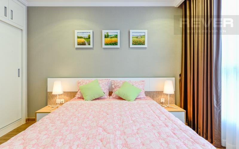phòng ngủ 1 Căn hộ Vinhomes Central Park tầng cao Landmark 3 thiết kế đẹp, view sông