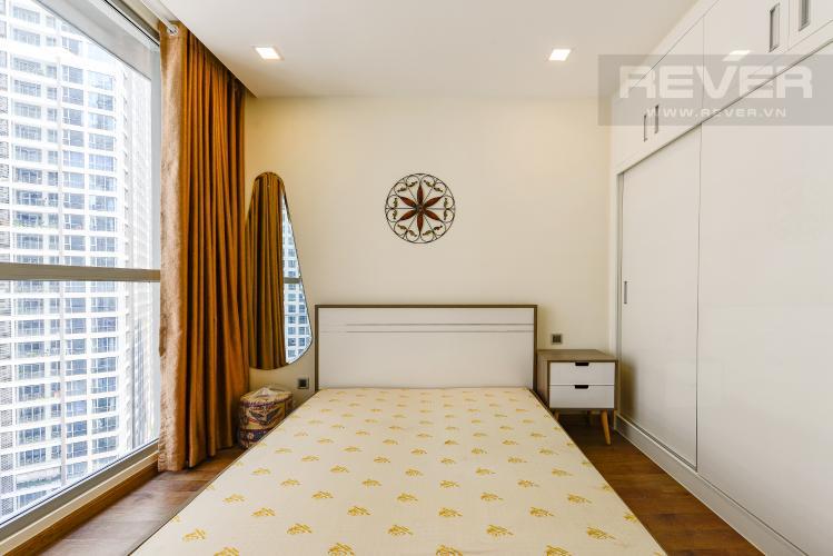 phòng ngủ 2 Căn góc Vinhomes Central Park tầng trung Park 2 đầy đủ nội thất