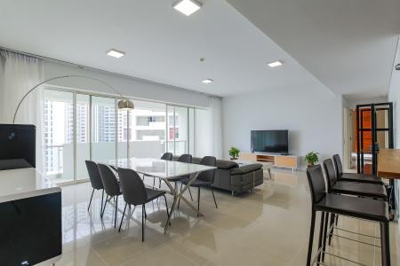 Cho thuê căn hộ The Estella Residence 3PN nội thất đầy đủ, view tiện ích nội khu đẹp