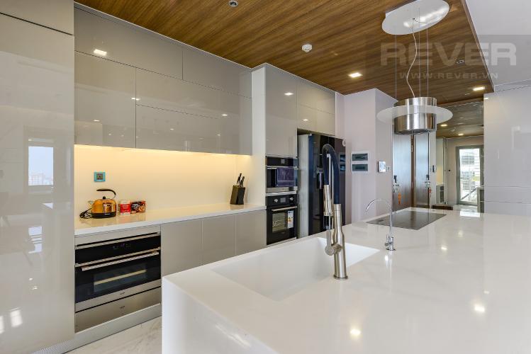 Bếp Căn hộ Vinhomes Central Park 3 phòng ngủ tầng trung P4 view sông