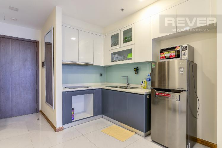 Nhà Bếp Bán và cho thuê căn hộ Vinhomes Central Park tầng cao 2PN đầy đủ nội thất