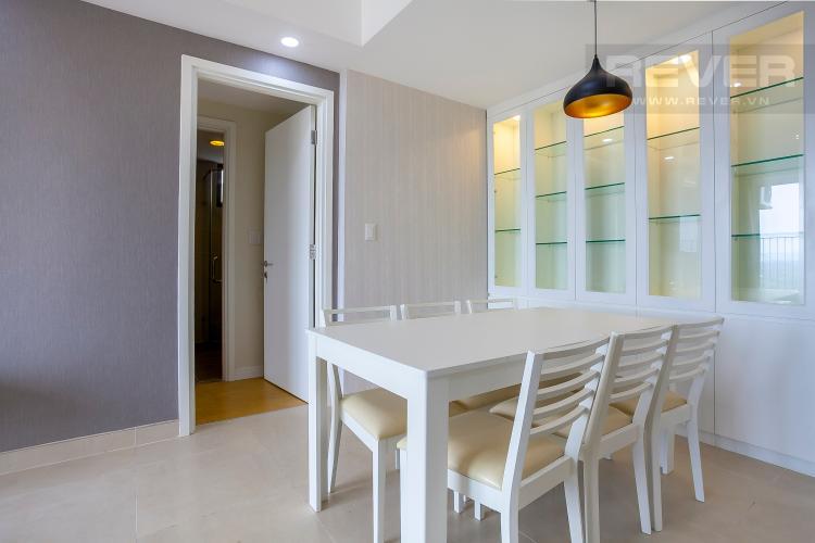 Bàn Ăn Căn hộ Masteri Thảo Điền 3 phòng ngủ tầng cao T4 nội thất đầy đủ