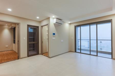 Căn hộ The Gold View 2 phòng ngủ tầng trung tháp B nhà trống