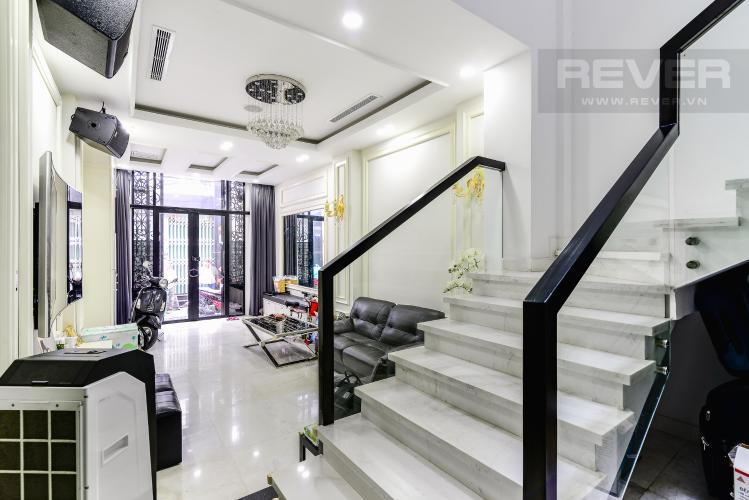Phòng Khách Nhà phố 3 phòng ngủ đường Võ Văn Kiệt, phường 6, Quận 5