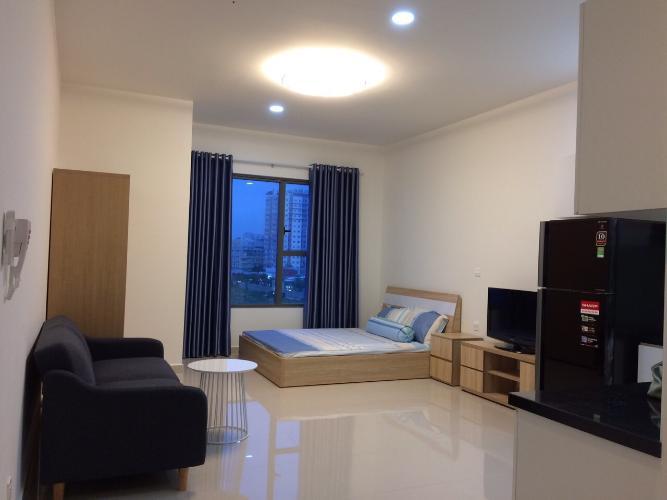 Căn hộ Officetel Sunrise City View đầy đủ nội thất, thoáng mát.