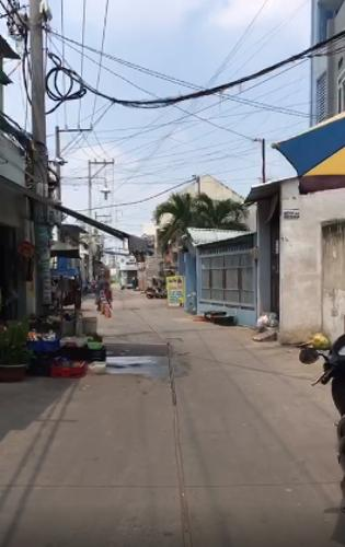 Đường nhà phố Lê Đình Cẩn, Bình Tân Nhà phố hẻm xe hơi, diện tích 89.5m2, khu dân cư sầm uất.