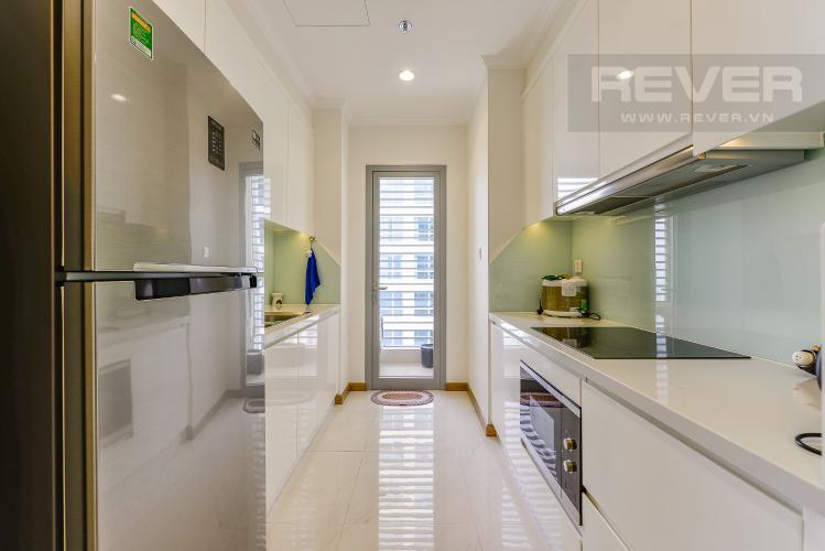 Bếp Căn hộ Vinhomes Central Park 2 phòng ngủ tầng cao L3 đầy đủ tiện nghi