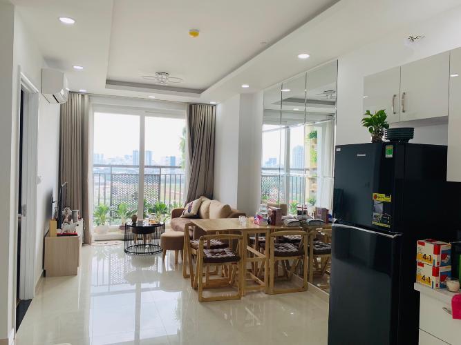 Phòng khách căn hộ Saigon Mia Căn hộ Saigon Mia tầng trung đầy đủ nội thất, tiện nghi cao cấp.