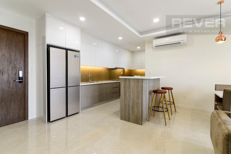 Nhà Bếp Cho thuê căn hộ Masteri Millennium tầng cao, 3PN, nội thất đầy đủ