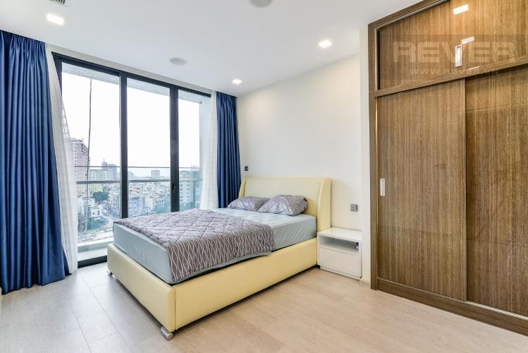 Phòng Ngủ 1 Căn hộ Vinhomes Golden River tầng thấp, tháp A1, 3 phòng ngủ, full nội thất