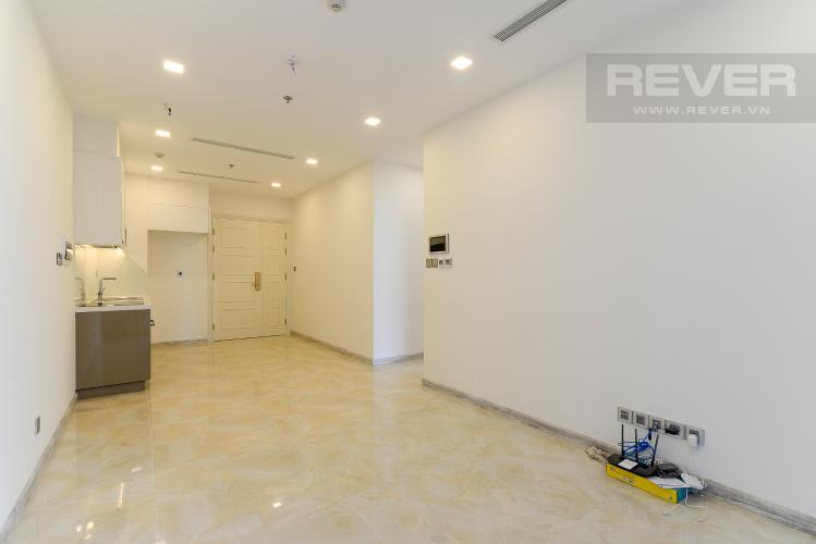 Phòng Khách Cho thuê căn hộ officetel Vinhomes Golden River 1PN, tháp The Aqua 1, view sông Sài Gòn