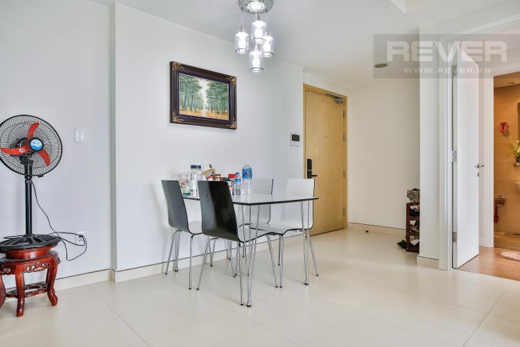 Phòng Khách Căn hộ Masteri Thảo Điền tầng cao T5, 2 phòng ngủ, đầy đủ nội thất