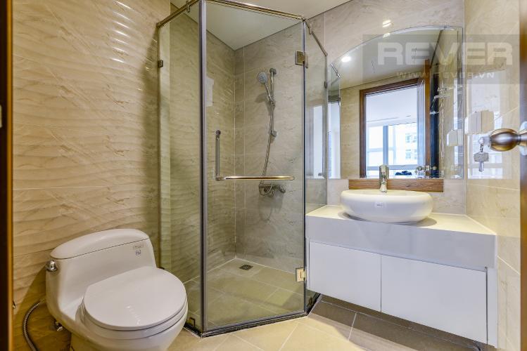 Phòng tắm 2 Căn hộ Vinhomes Central Park 2 phòng ngủ tầng cao L4 không nội thất