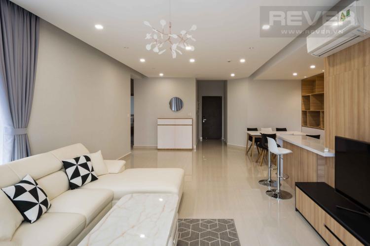 Phòng Khách Cho thuê căn hộ Riverpark Premier 2PN, tầng thấp, diện tích 80m2, đầy đủ nội thất
