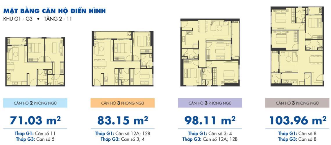 Mặt bằng căn hộ Căn hộ Sunrise Riverside tầng thấp, đầy đủ nội thất hiện đại.
